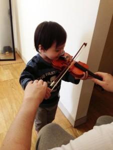 バイオリンレッスンサンプル